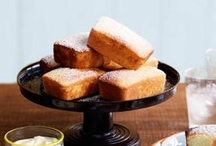 """Baking: Cakes - Afternoon Tea / Or for morning tea; that play-date in the park; the """"welcome-to-the-neighbourhood"""" or, just because you want to drag out your wedding china set & silverware for a change!"""
