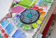 Artist Sketchbooks / by Mabelle R.O @ Whimsy and Stars Studio