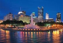 Pittsburgh--It's a Burgh Thing, n'at / Pittsburgh - A Favorite Place and Space Largest City Near My Hometown