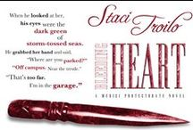 Bleeding Heart - Book 1 in Medici Protectorate Series / Francesca discovers she is the secret legacy of the Medici, prophesied to return Italy to its former glory. Targeted for assassination and ignorant of her enemy's identity, she is forced under the protection of Gianni, a warrior destined to defend her. As their worlds collide in passion and violence, Gianni will have to conquer Francesca's fears and his own personal demons to rescue them both.
