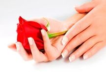 Hands with Roses