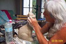 Sculptures , modelage