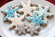 Christmas - Biscuits: Snowflakes