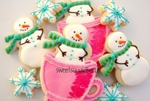 Christmas - Biscuits: Snowmen