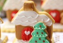 Christmas - Biscuits: Gingerbread Houses