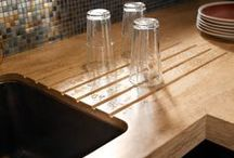 Kitchen Countertops / Countertops for the kitchen with a variety of tastes and styles in mind.