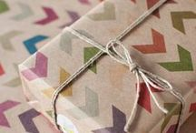 gift wrapping & card ideas / by Shelley