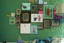 gallery wall / by Marly Elizabeth