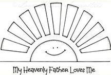 Christian Teachings + LDS / teaching children about gospel