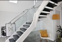 Contemporary Metal Staircases / When combined with wood and glass, our modern metal staircases are designed to impress.