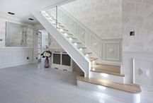 Contemporary Glass Staircases / Create a lasting impression by transforming your existing stairs into a stunning glass staircase.