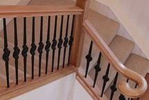 Classic Metal Staircases / Our wrought-iron spindles can give a staircase a period or rustic characteristic that complements a traditional property. They can also be mixed with a variety of other materials to create an original design within your hallway.