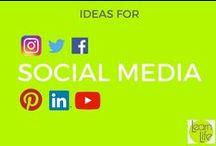 Social Media / Interesting visual facts of social media