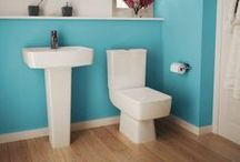 Cloakroom Suites / Save space and create a stylish look with these cloakroom suites