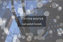 Winter 2012/2013 Nail Polish Trends / The top trends in nail polish this winter / by Amy