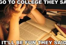College. / by Tiffany Cash