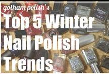 Winter 2013/2014 Nail Polish Trends / Winter 2013/2014 Nail Polish Trends / by Amy