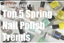 Spring 2014 Nail Polish Trends / by Amy