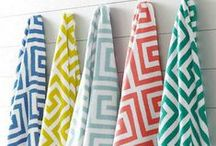Bathroom Towels / Bathroom towels provide an easy and affordable way to instantly update your bathroom!