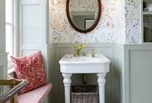 Country Bathroom Ideas / Create a look that's full of charm and character with these country bathroom ideas