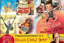 Happy Roald Dahl Day! / We're celebrating Roald Day Day by bringing together all of his much-loved characters, as illustrated by The Book Bus Trustee, Quentin Blake