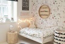Chambre enfant & bébé / chambre d'enfant et de bébé / baby room inspiration