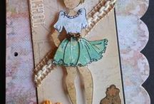 Julie Nutting Prima Paperdolls and Paperdoll Club at Simple Pleasures Rubber Stamps & Scrapbooking / Oh, my, goodness! Paper Doll Inspiration by Simple Pleasures Alpha Scrappa Beta Scrap Club in Colorado Springs, CO! And Julie's latest paper doll releases!See more on Simple Pleasures Facebook Page (Simple Pleasures Rubber Stamps & Scrapbooking)