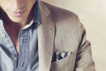 Mr. D a p p e r / Well dressed men, manly fashion trends and class all the way! / by Jessica Boynton