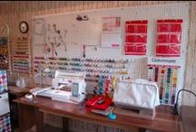 SOMEDAY Sewing Room Ideas / by Rita Werner