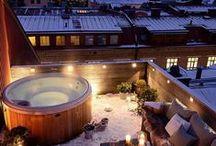 Balcon-terrasse / petits espaces extérieurs