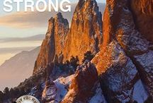 Colorado Strong / Colorado - home of the majestic Rocky Mountains and home of communities of compassionate, caring and resilient individuals. Colorado Strong.