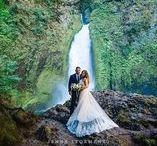 Wahclella Falls / Wahclella Falls elopement photos