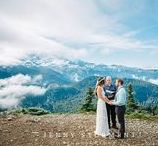 Tolmie Peak Mountain Top elopement / Mountain Top elopement at Tolmie Peak on Mount Rainier