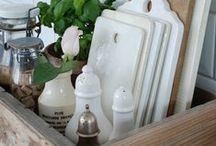 HOME DECOR ~ Kitchen Krafts / Creative kitchen decorating ideas.