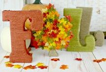 Fall Crafts / Crafts for the Fall! / by SewLicious Home Decor