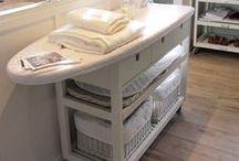 HOME DECOR ~ Laundry Room / Laundry room ideas!