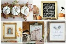 Season :: Fall / inspirational fall ideas and projects