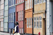 Struktur - Hus, byggnader, platser / Structures - Houses, buildings och places / by Josefine Larsson