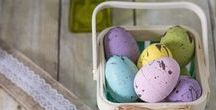 Easter 2018 / Recipes, DIY craft projects, home decor projects, kid-friendly tutorials, basket ideas, tablescape inspiration, and more for Easter!