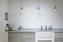 KITCHENS-キッチン & DINING-ROOMS-ダイニングルーム / by Nicoletta Cappelletti