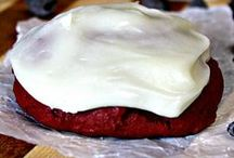 red velvet cookies / red velvet yummy cookies!!  / by Cara's Confections