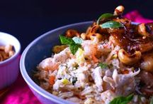 Recipes: Random Lunch and Dinner / by Rose Clearfield