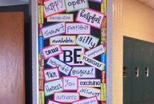 Bulletin Boards / For the classroom when I'm not in the mood to think, here r done GREAT Ideas :) / by Cindy Reichwein