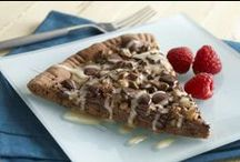 dessert pizzas  / by Cara's Confections