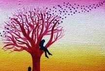 My Art - Paintings / Acrylic paintings of mine