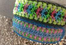 Rainbow Loom / Rainbow Loom projects / by Evelyn Durough