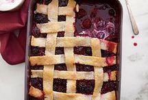Cobblers / Delicious fruit cobblers and cobblers of all kinds!