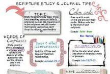 scripture study / by Sandra Hawryluk