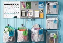HOME DECOR ~ Organization / Tons of ideas to organize your home!