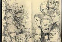 Moleskines & Sketches / by Heloisa Dassie